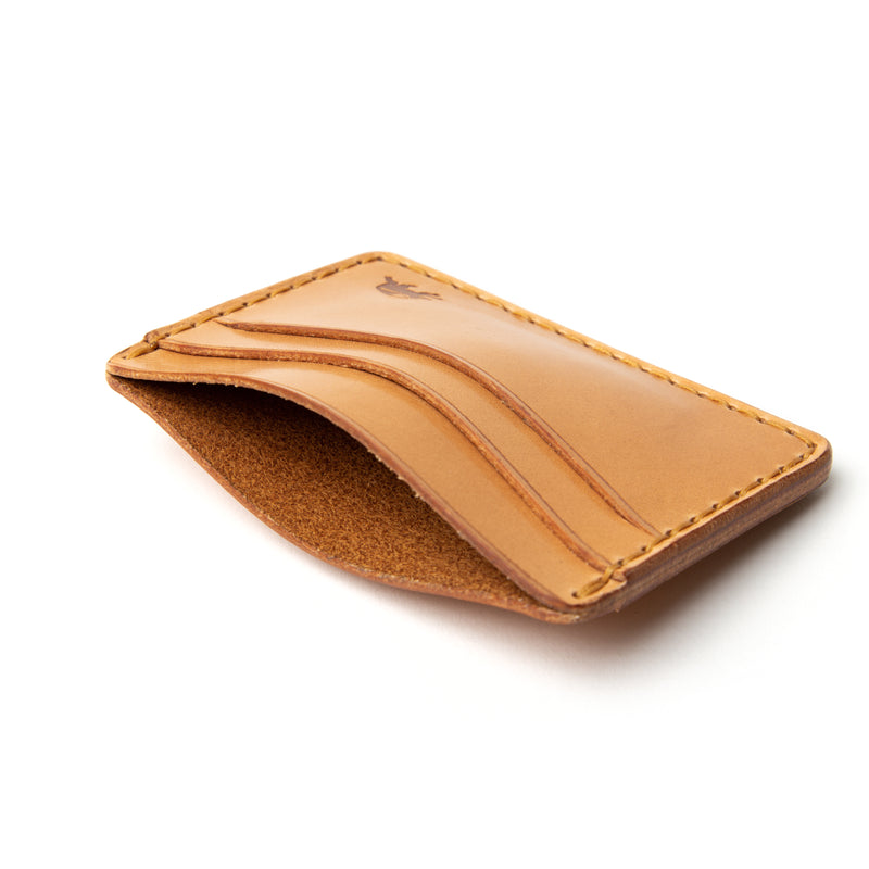 Hand Stitched 5 Pocket Wallet - Russet