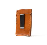 Hand Stitched Money Clip Wallet - Buck Brown