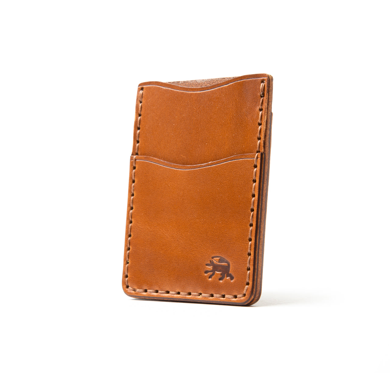 Hand Stitched Money Clip - Buck Brown
