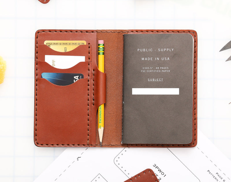 DIY Small Journal Cover Leather Kit