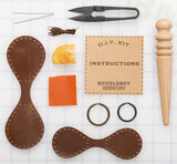 DIY Tear Drop Key Fob Leather Kit