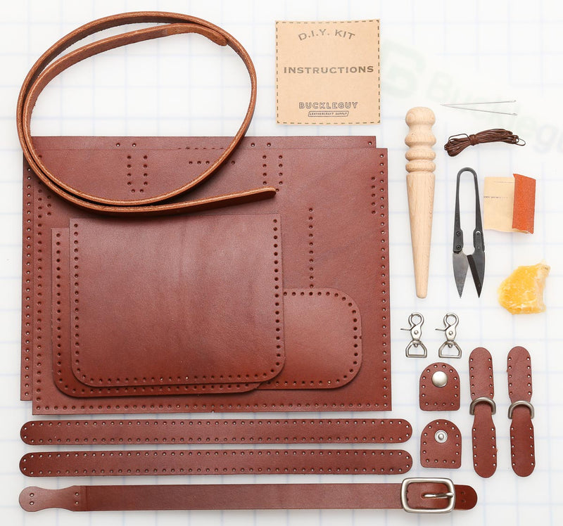 DIY Mini Tote Leather Kit