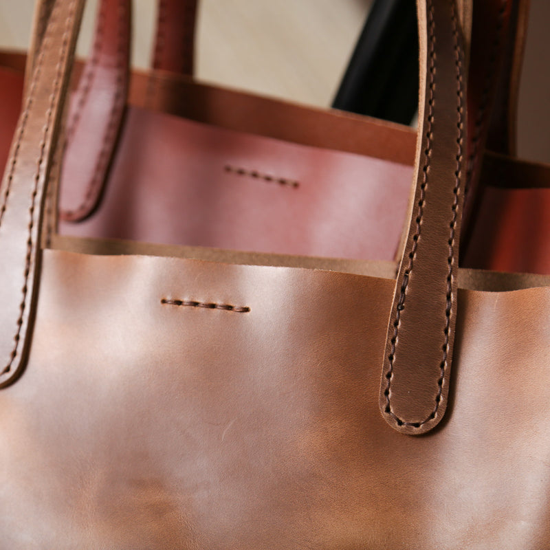 DIY Tote Bag Leather Kit