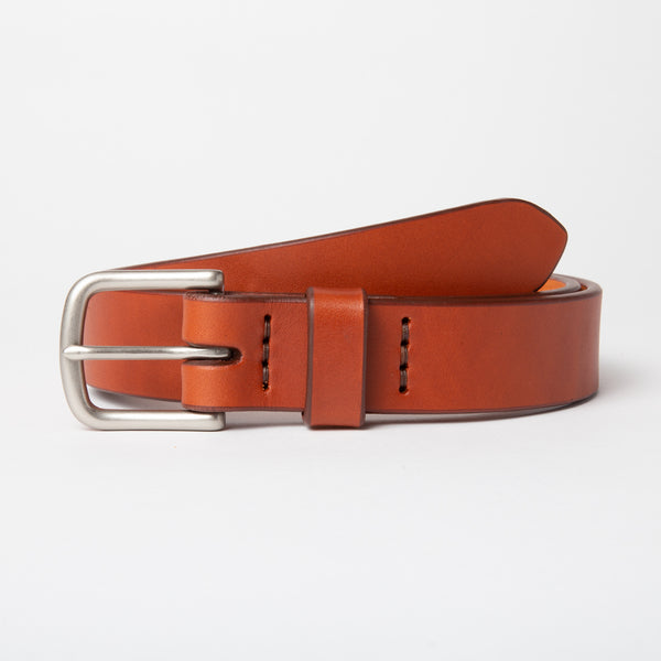 All Around Belt - Chestnut - 1.25""