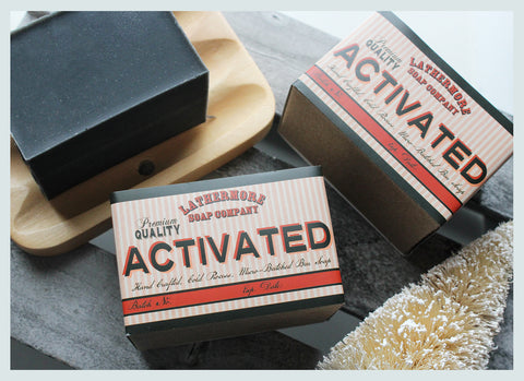 Premium Activated Charcoal Bar Soap