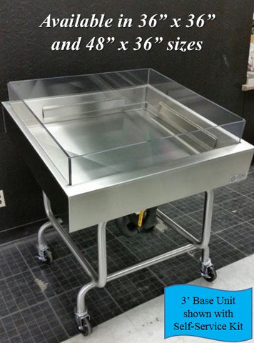 Mobile Ice Table - Base Unit - the transforMerchandiser - 1