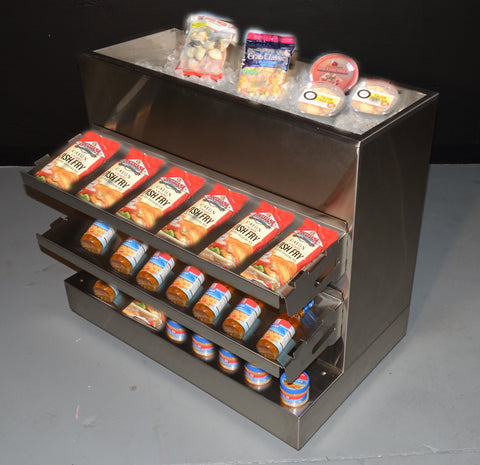 Modular Clam Bar / Dry Shelf Kit - the transforMerchandiser - 1