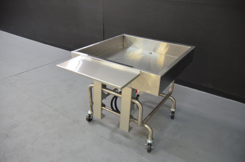 Stainless Steel Drop Shelf Kit - the transforMerchandiser - 1