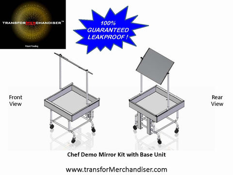 Chef Demo Mirror Kit - the transforMerchandiser - 1