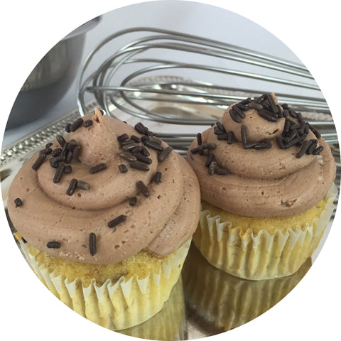 Banana Chocolate Cupcake- 6 count
