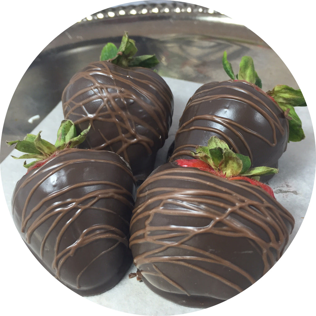 Dark Chocolate Covered Strawberries-6 count