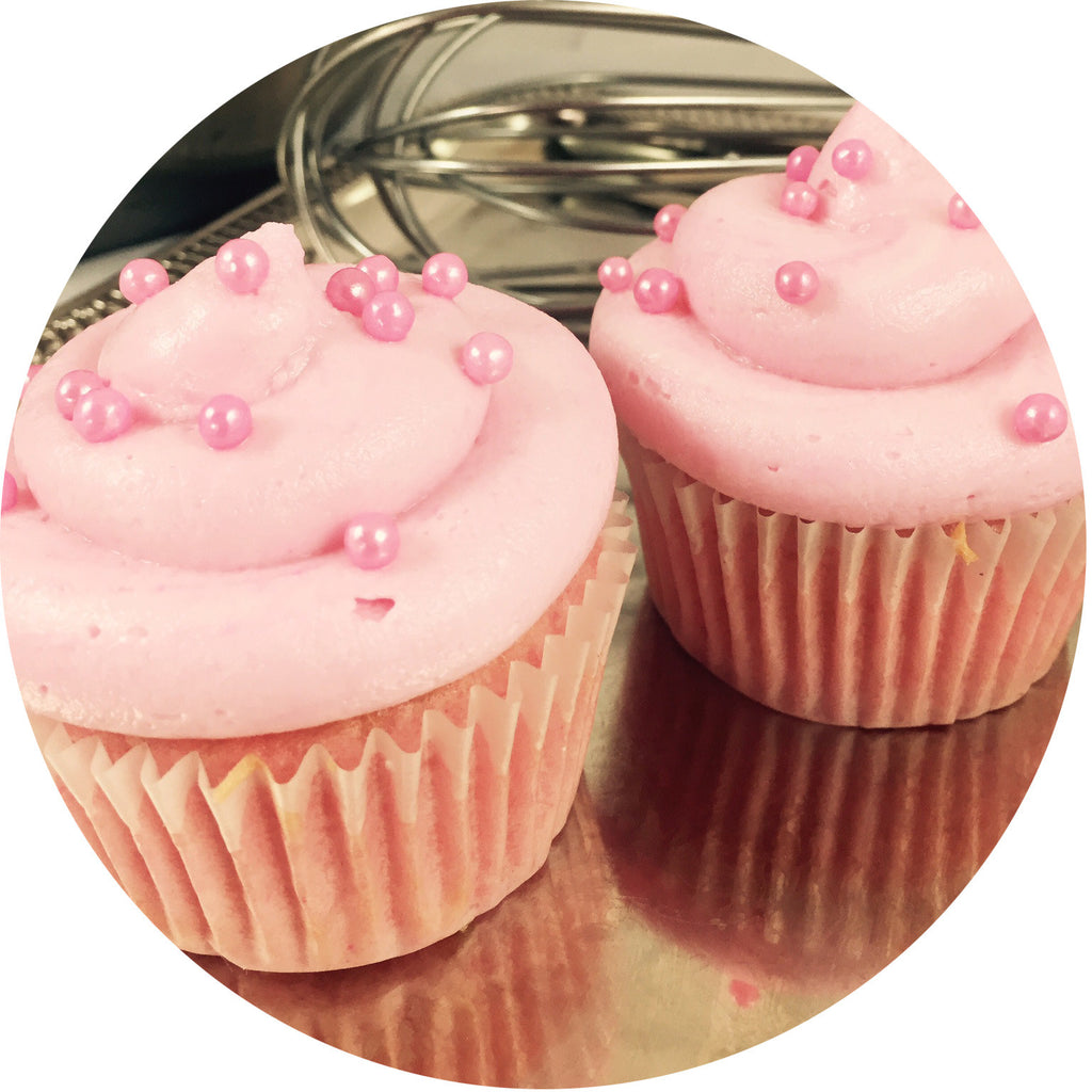 Pink Champagne Cupcake- 6 count
