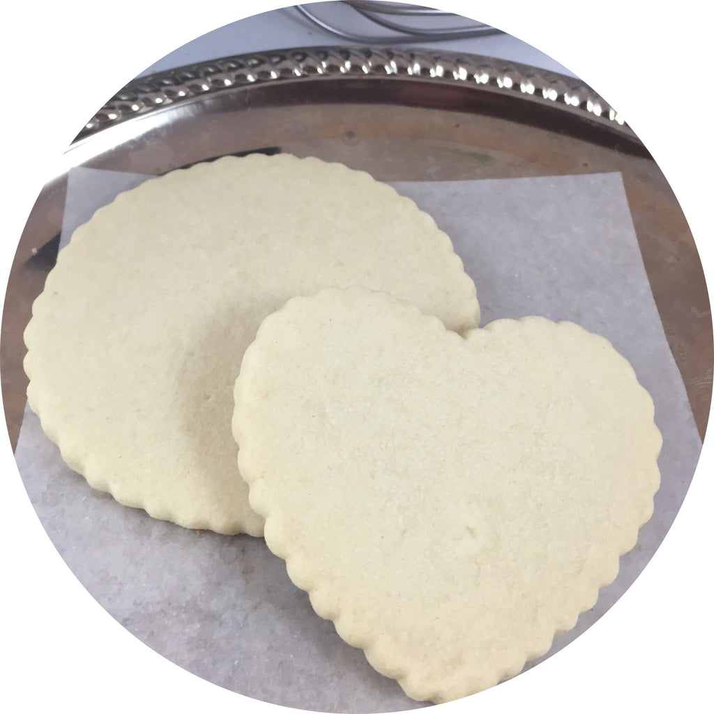 Naked Shortbread Cookies- 6 count