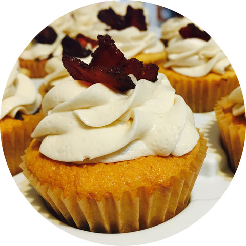 Maple Bacon Cupcake- 6 count