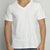 HL1017 Unisex Cotton V-Neck [PLATINUM]