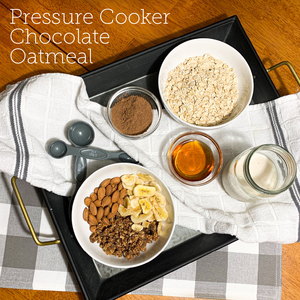 Chocolate Oatmeal In Your Pressure Cooker