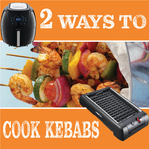 2 Ways to Cook Kebabs