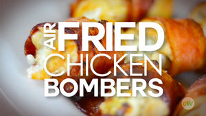Air Fryer Chicken Bombers