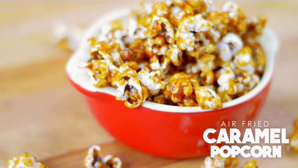 Air Fryer Caramel Popcorn Gowise Usa