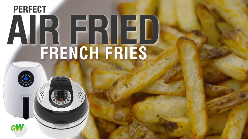 How to make frozen french fries in air fryer
