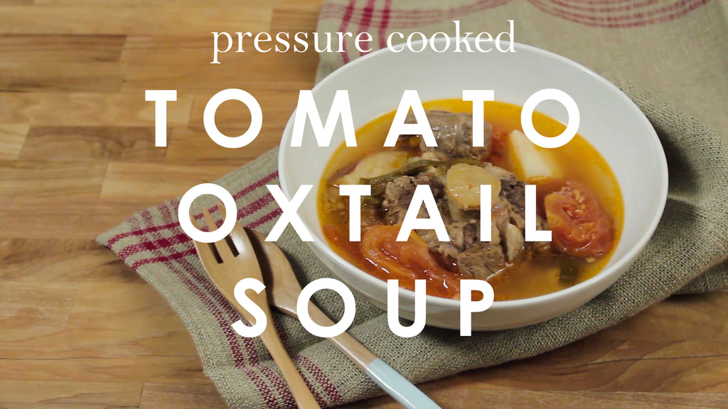 Pressure Cooked Tomato Oxtail Soup – GoWISE USA