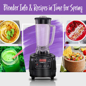 Blender Info & Recipes in Time for Spring