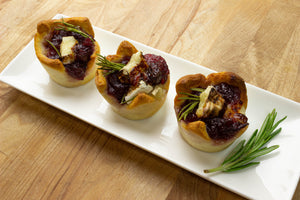 Air Fryer Cranberry Brie Bites