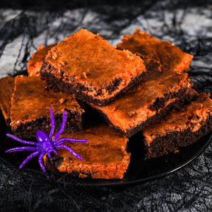 Halloween Brownie Cheesecake in your Air Fryer Oven