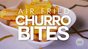 Air Fryer Churro Bites