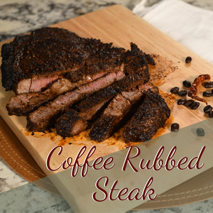 Coffee Rubbed Steak In Your Air Fryer Oven