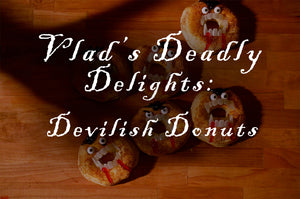Make these delicious and spooky donuts!