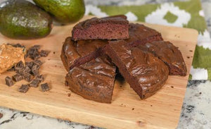 Diet Friendly Avocado Brownies