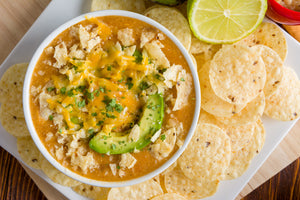 Enchilada Soup in the Pressure Cooker