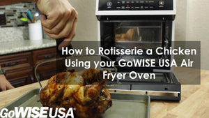 How to Use The Rotisserie Function on your Air Fryer Oven