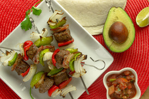 Mexican Beef Kebabs