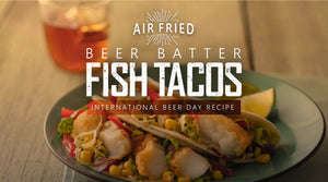Air Fryer Beer Battered Fish Tacos