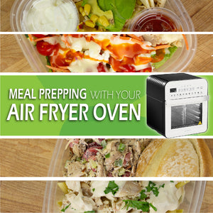 Meal Prepping with Your Air Fryer Oven