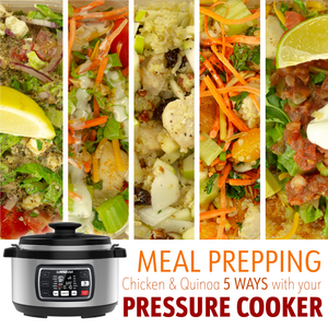 Meal Prepping with Your Pressure Cooker