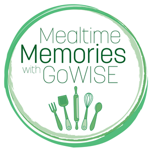 Mealtime Memories with GoWISE: Amy's Pork & Mushroom Dumplings & Dipping Sauce
