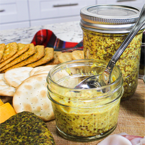 Whole Grain Mustard Recipe in Your Pressure Cooker