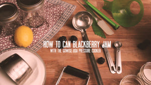 How to Pressure Can Blueberry Jam