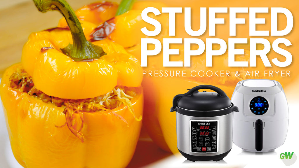 Stuffed Peppers - Pressure Cooker & Air Fryer