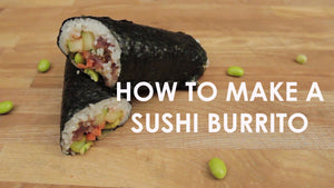 How To Make a Sushi Burrito with a Pressure Cooker
