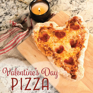 Valentine's Day Air Fryer Pizza
