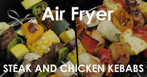 Air Fryer Kebabs