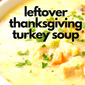 Pressure Cooker Leftover Thanksgiving Turkey Pie Soup