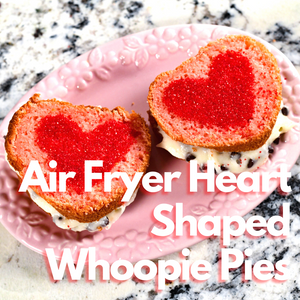 Air Fryer Heart Shaped Whoopie Pies