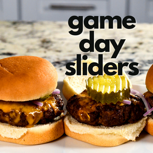 Air Fryer Game Day Sliders
