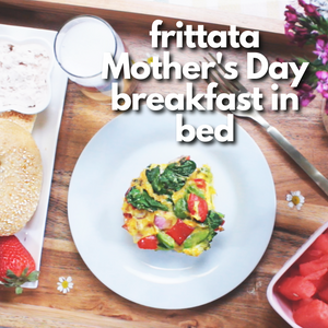 Frittata Mother's Day Breakfast In Bed