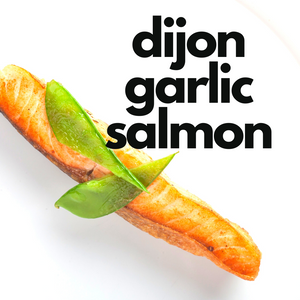 Air Fryer Dijon Garlic Salmon